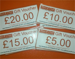 glass and craft gift voucher