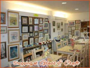 Kersey Mill glass craft and gift shop