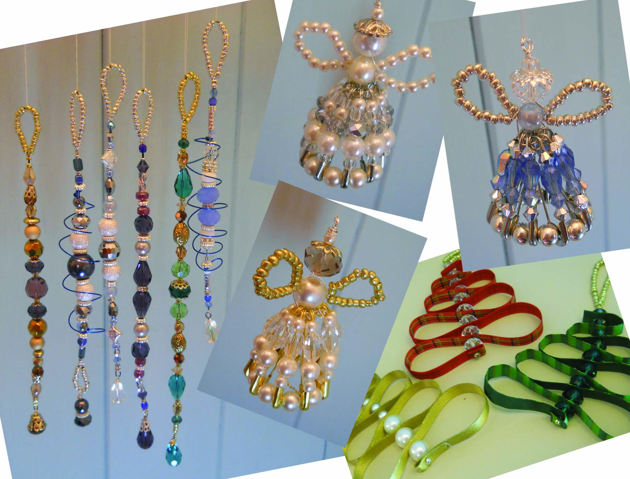 Decorating Ideas > Christmas Beaded Decoration Workshop  Glass & Craft ~ 040711_Christmas Decoration Ideas Beads